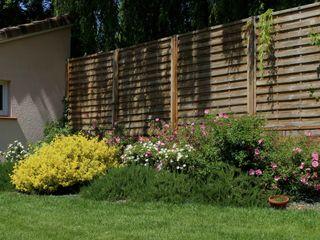 Aménagement bois Constans Paysage Jardin moderne Bois