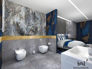 Wkwadrat Architekt Wnętrz Toruń Modern hotels Marble Grey