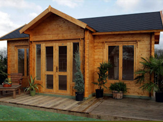 BZB Cabins And Outdoors Log cabin Solid Wood Wood effect