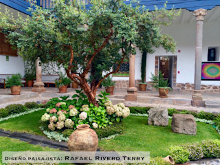 Rafael Rivero Terry arquitecto paisajista Jardines en la fachada