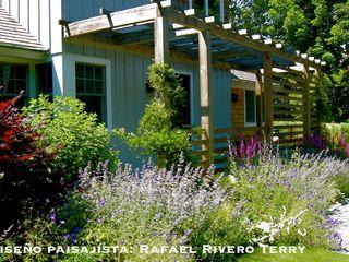 Rafael Rivero Terry arquitecto paisajista Jardines de estilo ecléctico