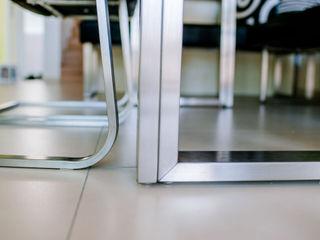 T-raumKONZEPT - Interior Design im Raum Nürnberg Їдальня Залізо / сталь Металевий / срібло