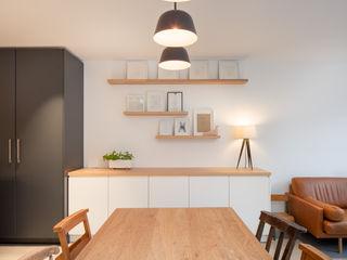 A House in Brixton, 2018 TAS Architects Moderne Esszimmer