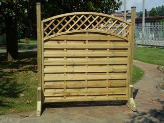 ONLYWOOD Garden Fencing & walls Solid Wood
