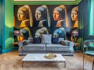 livinghome wnętrza Katarzyna Sybilska Гостиницы в стиле модерн Зеленый