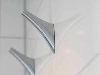 Duschbad Bad&Design Rußin&Raddei Ausgefallene Badezimmer Metall Metallic/Silber