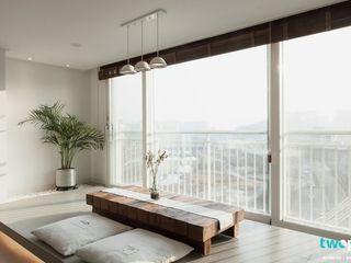 대구인테리어 디자인투플라이의 60평대 아파트 인테리어 디자인투플라이 모던스타일 거실