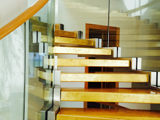 Siller Treppen/Stairs/Scale 樓梯 塑木複合材料 Amber/Gold