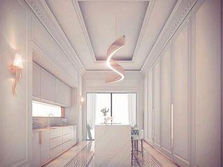 Lovely White Kitchen Room Design IONS DESIGN Kitchen units Marble White