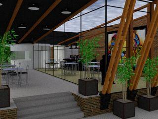 STUDIO SPECIALE - ARQUITETURA & INTERIORES Modern balcony, veranda & terrace Wood Transparent