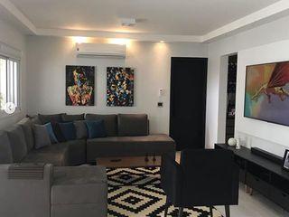 STUDIO SPECIALE - ARQUITETURA & INTERIORES Modern living room Solid Wood Black
