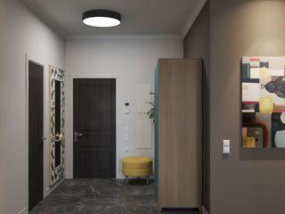 Wide Design Group 北欧スタイルの 玄関&廊下&階段