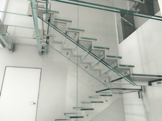 Siller Treppen/Stairs/Scale 樓梯 玻璃 Transparent