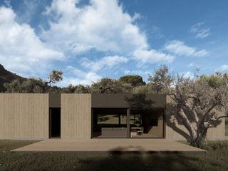 WOODEN HOUSE G|C – SICILY ALESSIO LO BELLO ARCHITETTO a Palermo Chalets & maisons en bois Bois