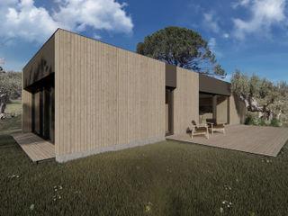 WOODEN HOUSE G|C – SICILY ALESSIO LO BELLO ARCHITETTO a Palermo Maisons de campagne Bois