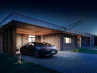 Архитектурное бюро Art&Brick Country house Bricks Metallic/Silver