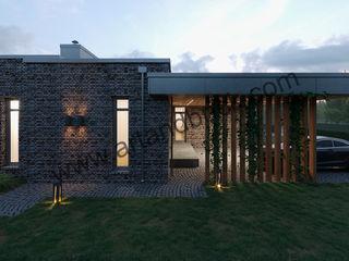 Архитектурное бюро Art&Brick Villas Aluminium/Zinc Metallic/Silver