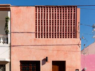 Taller Estilo Arquitectura Maison individuelle Béton Rouge