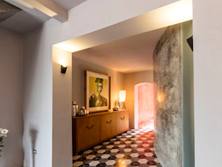 Taller Estilo Arquitectura Salon moderne Béton Gris