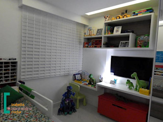 Decoração de quarto infantil Izabella Biancardine Interiores Quartos dos meninos