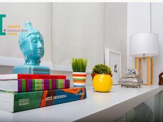 Decoração de Home Office Izabella Biancardine Interiores Salas de multimídiaMobiliário