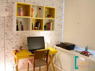 Decoração de Home Office Izabella Biancardine Interiores Quartos pequenos
