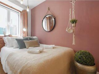 Rafaela Fraga Brás Design de Interiores & Homestyling Phòng ngủ nhỏ