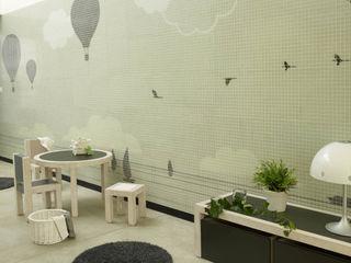 La casa dels Xuclis BARASONA Diseño y Comunicacion Baños de estilo moderno
