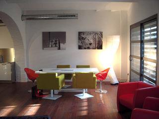 La Farinera BARASONA Diseño y Comunicacion Comedores de estilo minimalista