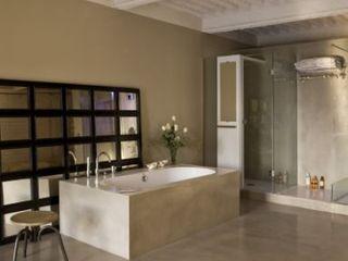 Suite armonia de contrastes BARASONA Diseño y Comunicacion Baños de estilo moderno