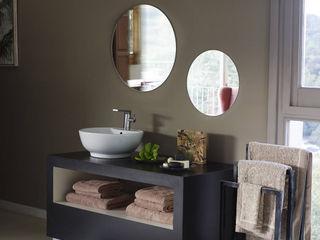 Dear brown BARASONA Diseño y Comunicacion Baños de estilo moderno