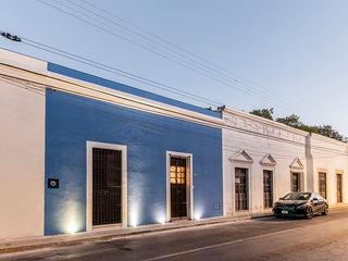 Taller Estilo Arquitectura Maisons coloniales Béton Bleu