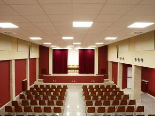 Riqualificazione sala conferenze - Via Marghera Roma Finchamp Costruzioni S.r.l.