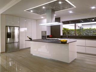 Decoralvarez Built-in kitchens Chipboard White