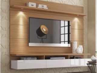 SARAÈ Interior Design Living roomTV stands & cabinets Plywood Brown