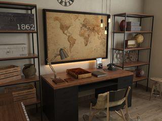 SARAÈ Interior Design Study/office Plywood Brown