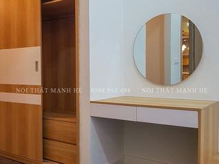 Designer Công ty Cổ Phần Nội Thất Mạnh Hệ Phòng ngủ nhỏ MDF Brown