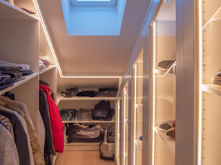 Moreno Licht mit Effekt - Lichtplaner Modern Dressing Room