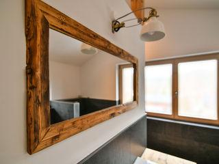 Schlafzimmer & Badezimmer edictum - UNIKAT MOBILIAR BadezimmerSpiegel Holz Braun
