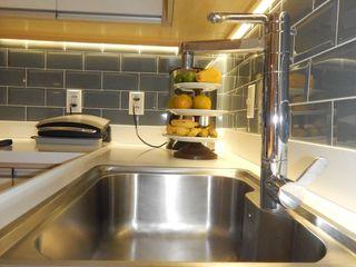 Cozinha Reformada Izabella Biancardine Interiores CozinhaPias e torneiras