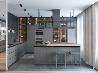 K13 Privat Wohnung nadine buslaeva interior design Einbauküche