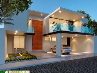 AIDA TRACONIS ARQUITECTOS EN MERIDA YUCATAN MEXICO Casas de estilo moderno