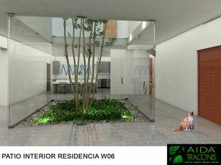 AIDA TRACONIS ARQUITECTOS EN MERIDA YUCATAN MEXICO Estanques de jardín