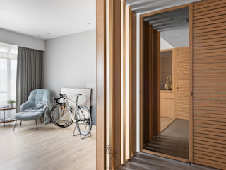 禾光室內裝修設計 ─ Her Guang Design Modern Corridor, Hallway and Staircase