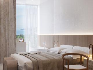 Suiten7 Cuartos de estilo escandinavo Madera Beige