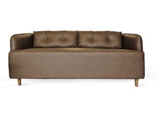 viku 客廳沙發與扶手椅 合成纖維 Brown