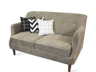 viku 客廳沙發與扶手椅 布織品 Grey