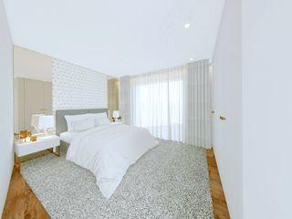 MIA arquitetos Спальня