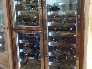 Gibeli Refrigeração Wine cellar Glass Wood effect