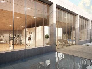 Infografias 3D y Renders 3D Madrid 現代房屋設計點子、靈感 & 圖片